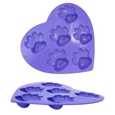 Paw Print Silicone Muffin Pan at The Animal Rescue Site