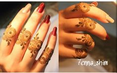 Pinterest // @alexandrahuffy ☼ ☾ Mehndi Desgin, Unique Mehndi Designs, Beautiful Henna Designs, Beautiful Mehndi, Arabic Mehndi Designs, Finger Henna Designs, Mehndi Designs For Fingers, Henna Tattoo Designs, Henna Tattoo Hand