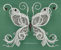 Parchment Craft Butterfly #5
