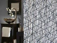 1000 images about d co s paration pi ce on pinterest - Rideau douche original design ...