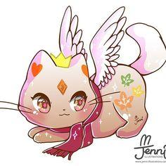 Cat Kawaii, Cute Kawaii Animals, Cute Animal Drawings Kawaii, Kawaii Chibi, Cute Chibi, Cute Drawings, Kawaii Anime, Cute Cat Drawing, Anime Animals