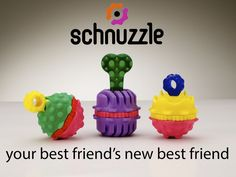Schnuzzle is the world's first interactive dog toy system that holds an innovative, changeable scent reward.