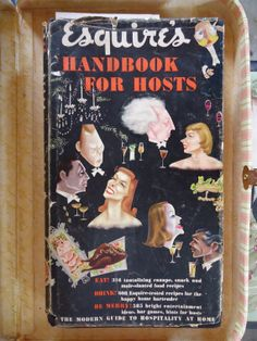 Esquires Handbook for Hosts  1949 by Catsandclover on Etsy, $27.00
