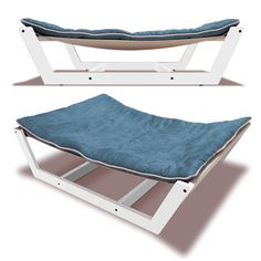 This dog hammock is a safe and sturdy place for your pup to relax