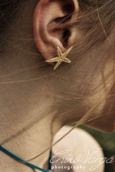 Tengericsillag fülbevaló