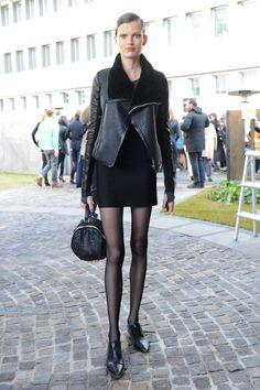 Milan Fashion Week Fall 2012 Models style