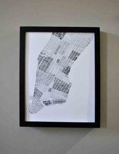 Modern Map Art - Art - Accessories+ | Uncovet