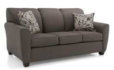 This sofa is great for entertaining company, and even better for an overnight guest! It opens up to comfortable full size bed!