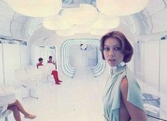 Jenny Agutter Logans Run 1976. Retrofuturism is so cool #logansrun #cinema #sciencefiction #dystopian #scifi #babes
