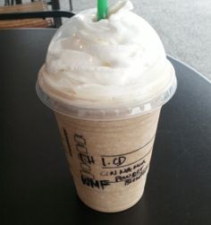 Starbucks Secret Menu: Cinnamon Toast Crunch Frappuccino