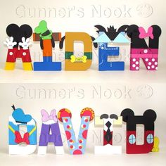 mickey mouse clubhouse letters the template templates for props 23636