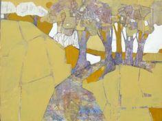 """Mary Carlton - """"Yellow Days"""" - Acrylic"""