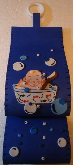 Set De Baño En Goma Eva:Ginger Bath Accessories Made by Lauren Nicholl