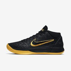 new styles 99fa1 fbb07 Nike Kobe A.D. Black Mamba Men s Basketball Shoe Best Sneakers, All Black  Sneakers, Black