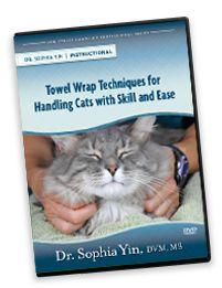 Low Stress Handling Cat Toweling Techniques | Dr. Sophia Yin, DVM, MS