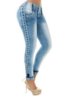 Bardot Lace up Jean