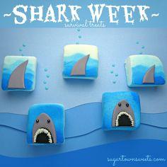 Sugartown Sweets: Shark Week Treats