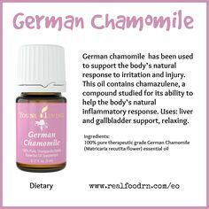 Essential Oil German Chamomile Essential Oil Keeping The Weeds Ou Homemade Essential Oils, Yl Essential Oils, Essential Oil Diffuser Blends, Young Living Essential Oils, German Chamomile Essential Oil, Chamomile Oil, Yl Oils, Young Living Oils, Aromatherapy Recipes