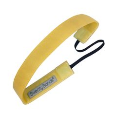 "Sweaty Band Fitness Headband - Eye Candy - Daffodil - 1"" Wide"