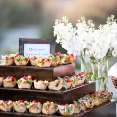 Everything Mini l Southern Wedding Hors d'Oeuvres