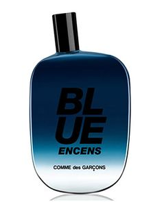 Blue Encens Eau de Parfum by Comme des Garcons: Artemisia, Indian cardamom, black pepper, cinnamon, mystical incense, mineral amber crystals