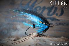 Sillen Salmon Hook Fly 3/0 Var tied by Torve