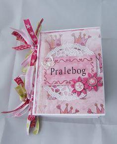 Minialbum/pralebog - DT Panduro Hobbys scrapbooking