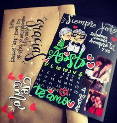 Birthday Presents For Wife Boyfriends 37 Ideas Diy Gifts For Boyfriend, Boyfriend Anniversary Gifts, Birthday Gifts For Boyfriend, Diy Birthday, Birthday Presents, Birthday Cards, Cute Crafts, Diy And Crafts, Ideas Aniversario