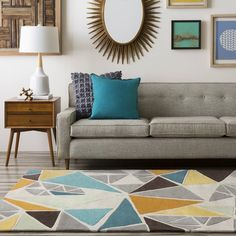With a look that is sure to remain a timeless part of your home decor for years to come, the flawless rugs found within the Cosmopolitan collection by Surya offer an exquisite addition from room to room within any home decor. Hand tufted in 100%...