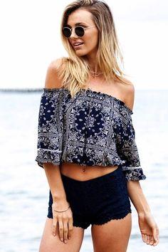 Blusa Ciganinha Estampada Linda - Compre Online | DMS Boutique