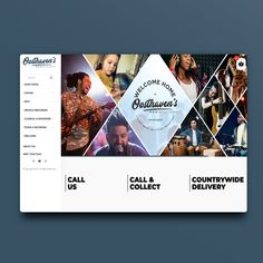E-commerce site built for Oosthavens Music Store. You can buy any musical instrument on this site! Website Layout, Music Store, Ecommerce, Wordpress, Design, Web Layout, E Commerce, Website Designs
