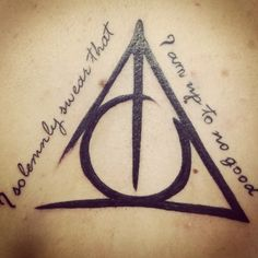 "Accio Tattoo! 100 Harry Potter Tattoos I love love love this one! I would just get ""Mischief Managed"" instead as a type of good-bye to my childhood obsession"