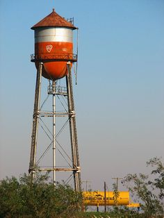 Water Towers - water tower red