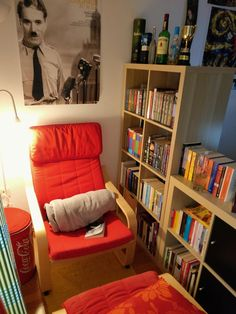 My cozy reading corner