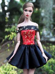 poppyparker  by eifel85, eifel doll dress