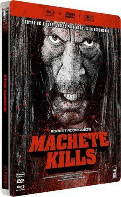 MACHETE KILLS - BOITIER METAL STEELBOOK en BLU-RAY - NEUF - *