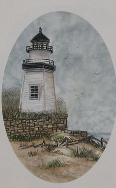 Janes art on etsy...handpainted Lighthouse
