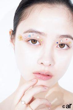 Hashimoto Kanna, Beautiful Japanese Girl, Cute Wallpapers, Art Reference, Cute Girls, Makeup Looks, Hair Makeup, Girly, Make Up