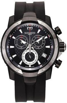 Technomarine UF6 Carbon fiber PVD Stainless Mens Watch 609024 BY Technomarine