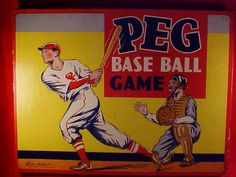 Vintage Parker Brothers board game from 1915