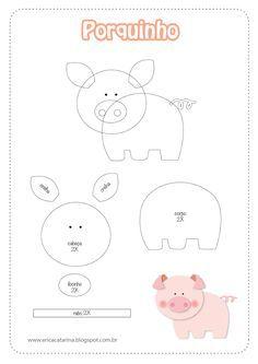 Resultado de imagen para moldes de animales en foami para niños
