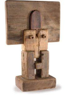 "europeansculpture: ""  Adolf Vallazza - Sans Titre, 1981 """