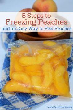 Can Peaches Recipes, Fresh Peach Recipes, Fruit Recipes, Recipe For Freezing Peaches, Shake Recipes, Donut Recipes, Jam Recipes, Summer Recipes, Essen