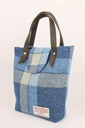 The Linton Handbag | Pauline Lothian Designs, luxury Harris Tweed bags, accessories and gifts