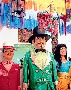 Giant dolls - Carnival in Olinda