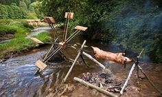 Funny pictures about Engineers Go Camping. Oh, and cool pics about Engineers Go Camping. Also, Engineers Go Camping photos. Bushcraft Camping, Camping Survival, Go Camping, Survival Skills, Camping Hacks, Camping Ideas, Wilderness Survival, Emergency Preparedness, Funny Camping