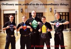 Pray for Seminarians... The Future Superheroes of the Catholic Church  //  St. Gregory the Great Seminary (Diocese of Lincoln, Nebraska)