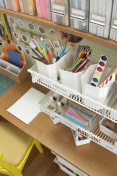 Our elfa Craft Closet is a creative use of space!