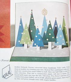 Great DIY Christmas Card! Idea from Better Homes & Garden Christmas Ideas for 1964 https://www.etsy.com/listing/172062751/1964-better-homes-gardens-christmas?ref=shop_home_active