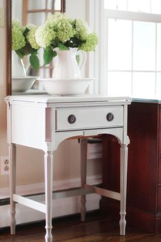 ..what to do with those old sewing machine cabinets.